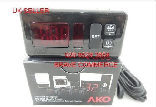AKO D14123  Industrial Digital Thermostat Controller for Refrigeration